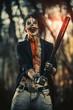 crazy punk clown