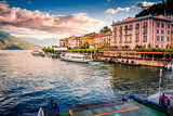 Lake Como. Belaggio, Italy. Summer time. European vacation, living life style, architecture and travel concept. - 172778041