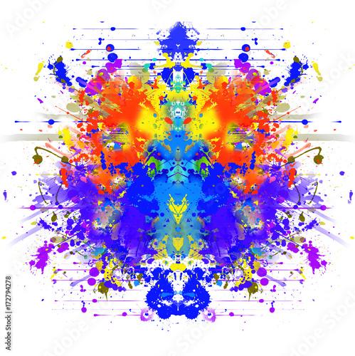 Aluminium Reznik абстрактный магический цветной фон