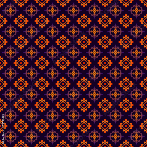 seamless fleur de lys pattern on dark background buy photos ap