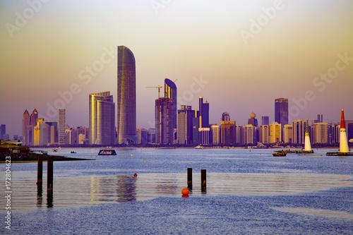 Fotobehang Abu Dhabi Abu Dhabi Cityscape