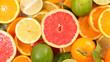 Quadro citrus fruit