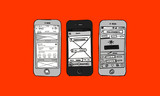 Phone UI UX Wire frame - 172813061