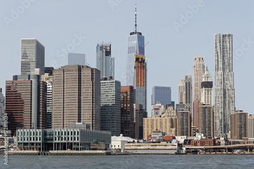 Manhattan vu depuis Brooklyn Poster