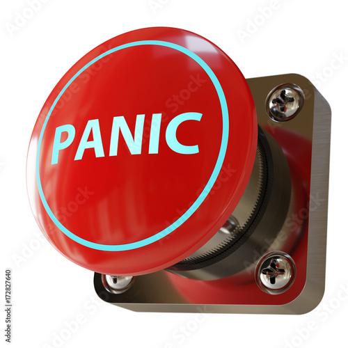 Poster Big Panic Button