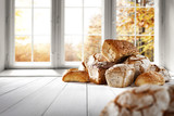 bread and window space  - 172836499