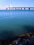 Puente de la Constitución, llamado La Pepa, en Cádiz, Andalucía. España
