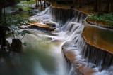 waterfall huay mae khamin in Kanchanaburi province,Thailand
