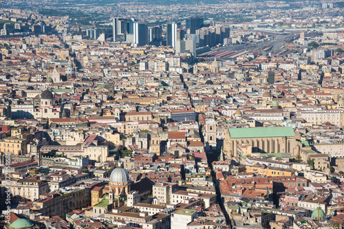 Foto op Plexiglas Napels Naples (Campania, Italy) - The historic center of the biggest city of south Italy. Here in particular: the cityscape