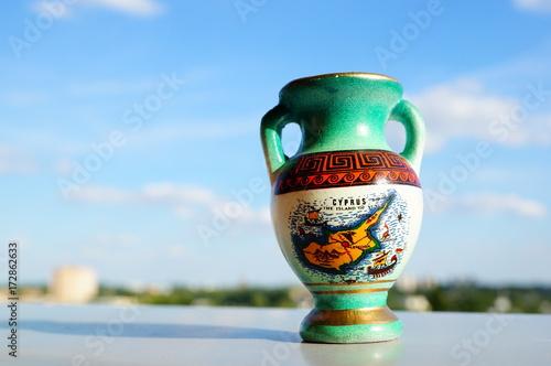 Foto op Plexiglas Cyprus Greek vase