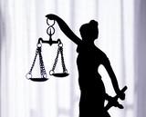 Metal statue symbol of justice Themis - 172881081