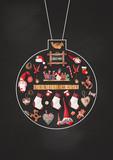 Merry Christmas Greeting Card - 172885245