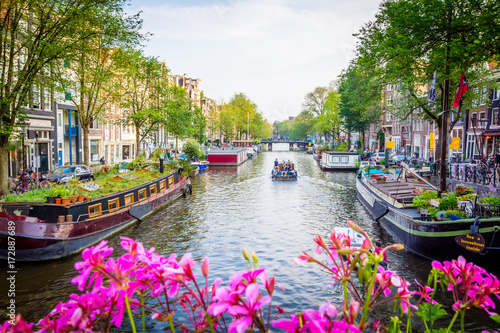 Tuinposter Amsterdam Amsterdam - Netherlands