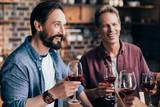 friends drinking wine - 172948455