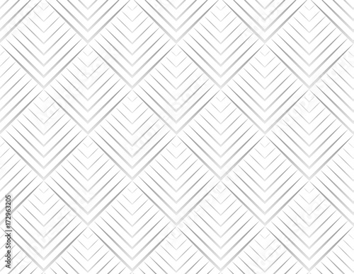 Seamless pattern with abstract white and gray shape - 172963205