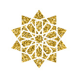 Vector islamic golden pattern - 172968449