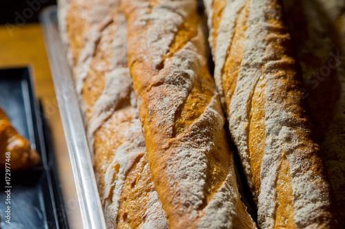 Baguette bread Poster