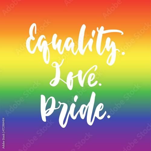 Póster Igualdad