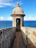 Turret at Castillo San Cristobal in San Juan, Puerto Rico. - 173010687