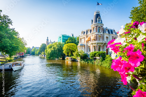 Foto op Aluminium Amsterdam Amsterdam - Netherlands