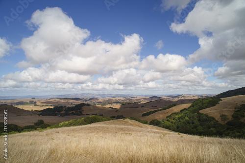 Foto op Canvas Beige sonoma hills