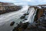 Famous Selfoss waterfall - 173225625
