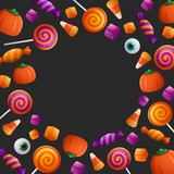 Trick or Treat. Halloween Sweet and Candies. - 173249624