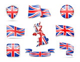 United Kingdom Flag Collection - 173287087