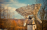 Astronomical telescope and the monastery, Poland - 173331030