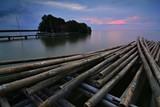 scenery  sunset beach photo