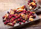 mixed of dried fruits