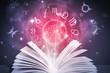 Постер, плакат: astrology horoscope book