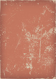 Vintage And Grunge Red Scratched Background - 173459245