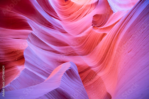 Foto op Canvas Candy roze Antelope canyon