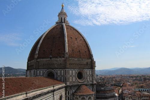 Deurstickers Florence Döme de la Cathédrale Santa Maria del Fiore, Florence