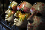masks for the carnival, venice
