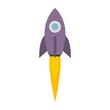 Space Shuttle Rocket Icon