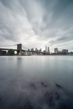 Brooklyn bridge and Manhattan skyline - 173510692