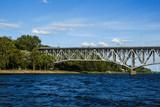 Bridge over Vistula river in Plock, Poland