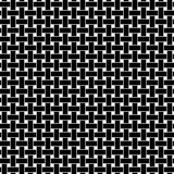 Seamless 'woven' vector texture on transparent background. Black and white series No. 4. - 173588634