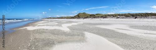 Foto op Canvas Noordzee Strand am Westende der ostfriesischen Nordseeinsel Juist in Deutschland, Europa.