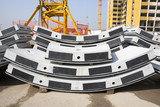 Concrete elements for subway tunnel