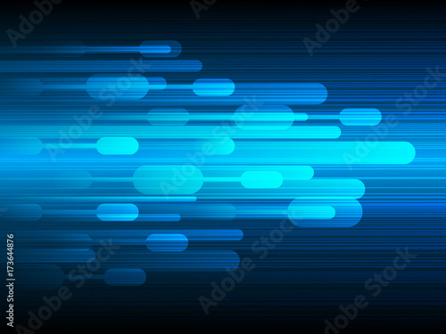 Fototapeta Vector design Technology,Speed,Fast background.