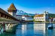 Leinwanddruck Bild - Lucerne in Switzerland