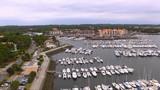 marina sur la côte française  - 173666461