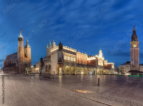 Fototapeta Main Square in Krakow