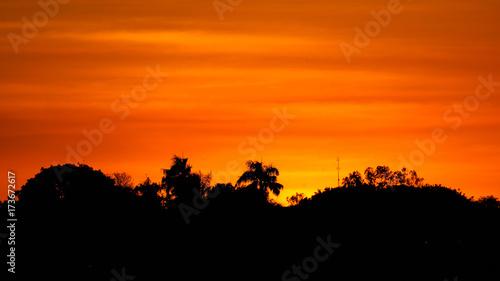 Foto op Aluminium Oranje eclat Exploring Darwin in the Northern Territory, Australia