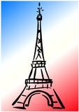 Tour Eiffel Tricolore 2