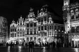 Grand place in Brussels at night - 173699638