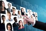 Social media and recruiting concept - 173699692